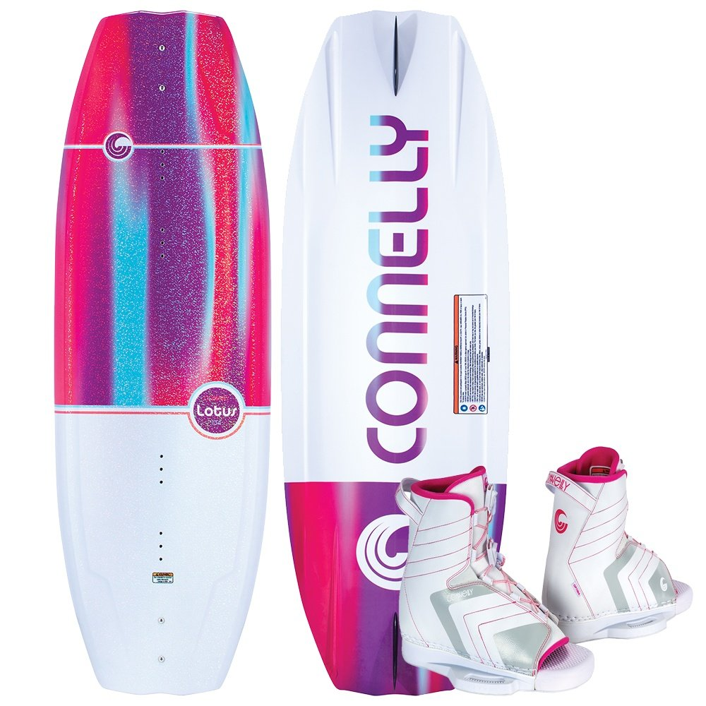 Connelly 134 Lotus Wakeboard with Optima Boots (Women's) -