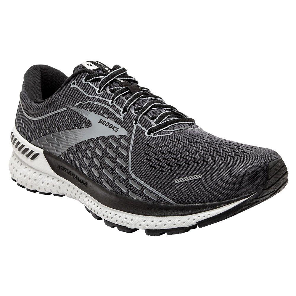 Brooks Adrenaline GTS 21 Running Shoe (Men's) - Blackened Pearl/Grey