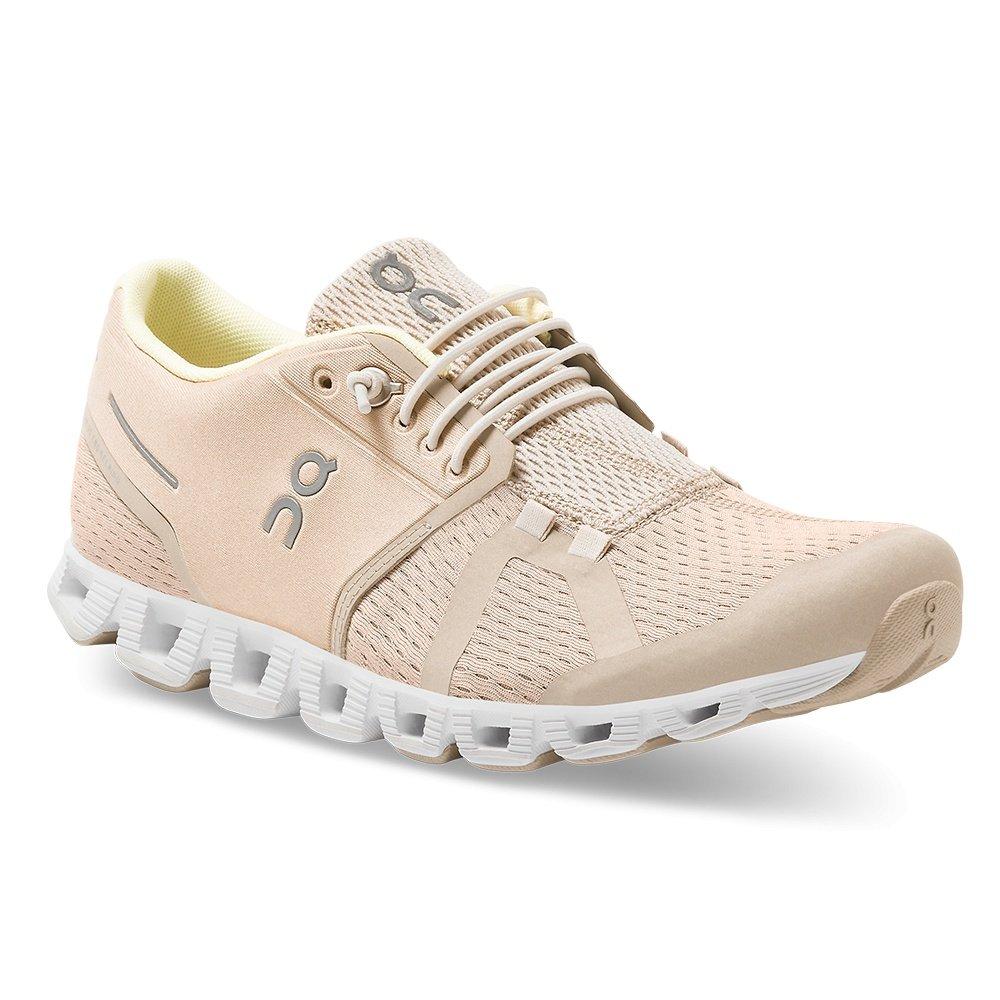 On Cloud Running Shoe (Women's) - Sand/Pearl