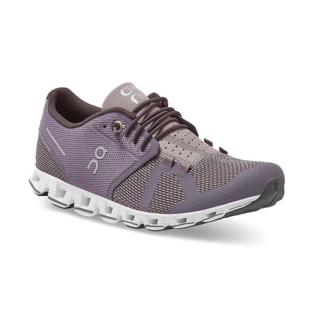 On Cloud Running Shoe (Women's) - Shark/Pebble