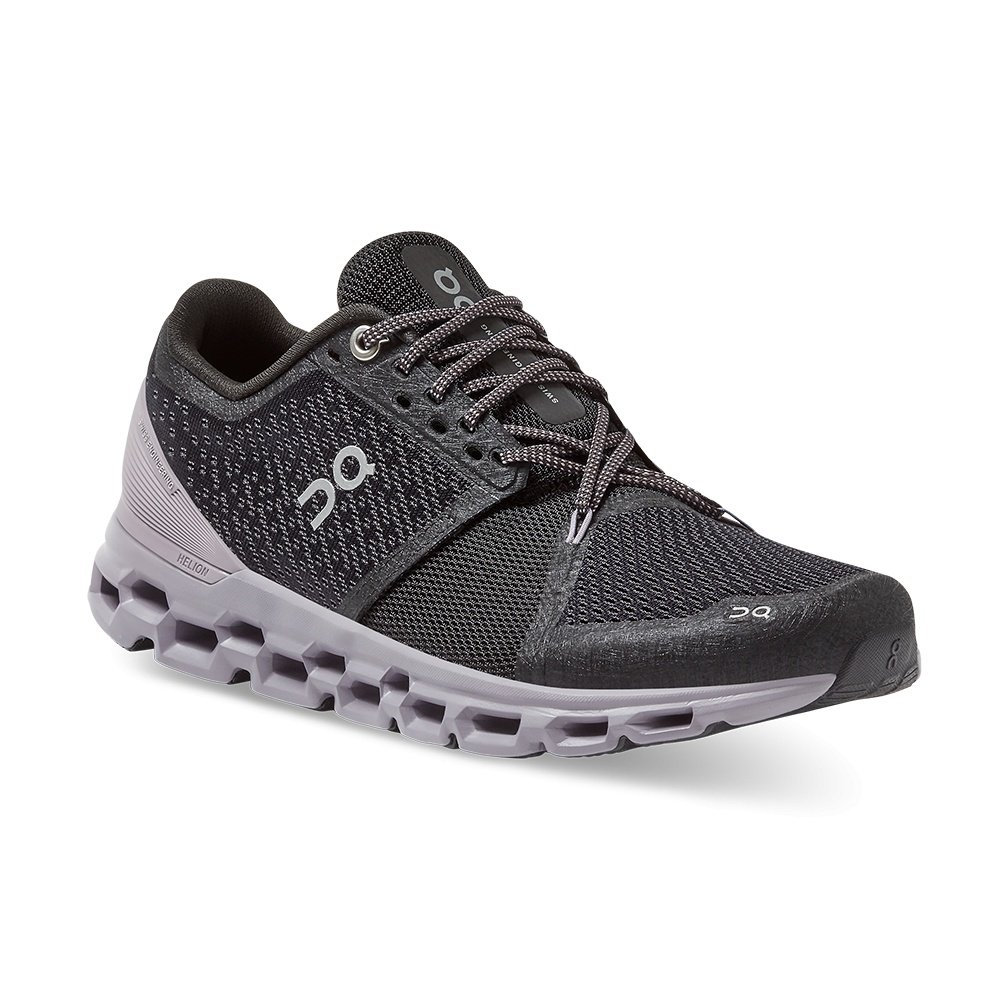 On Cloudstratus Running Shoe (Women's) - Black/Lilac