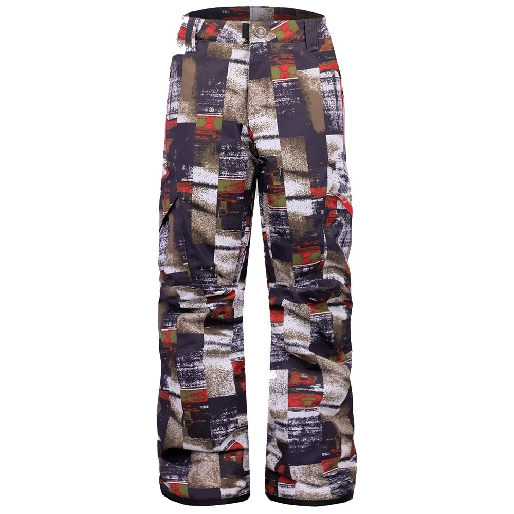 Boulder Gear Bolt Cargo Insulated Ski Pant (Boys') - Red Galactic