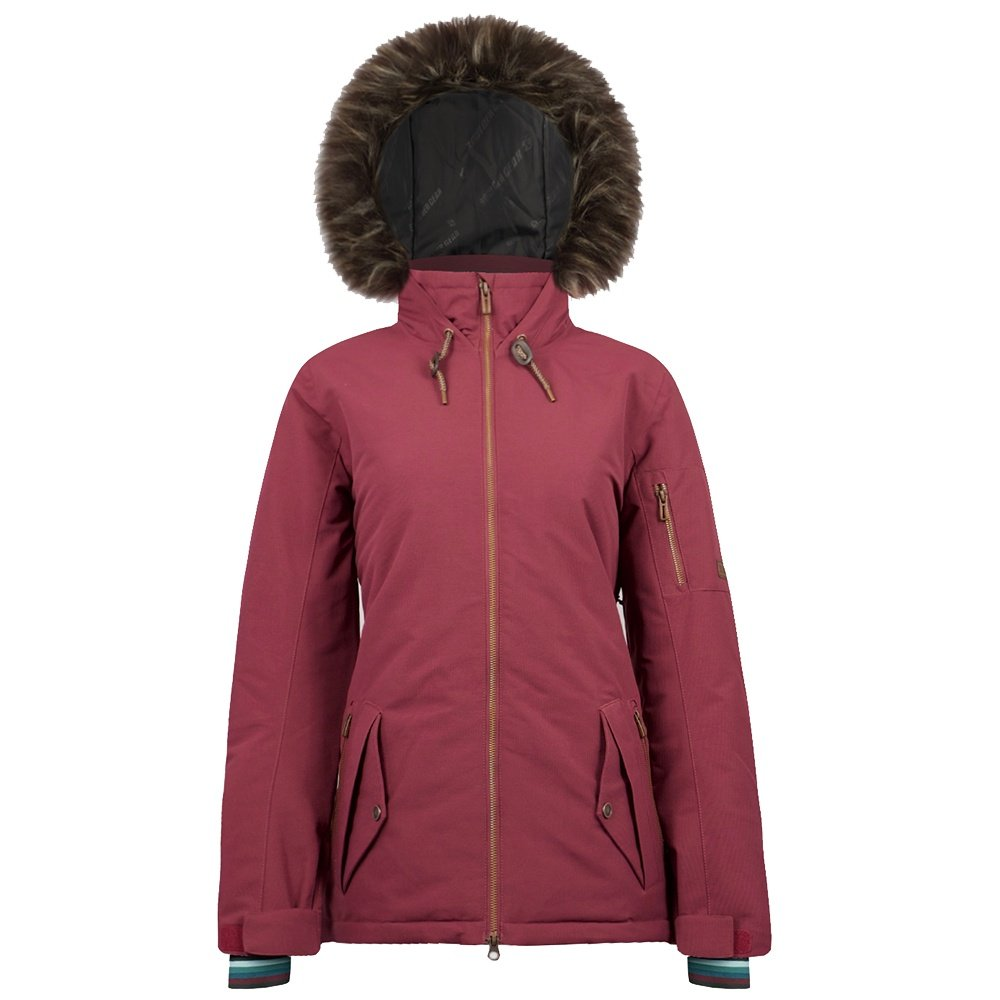 Boulder Gear Halo Insulated Ski Jacket (Women's) - Rosewood