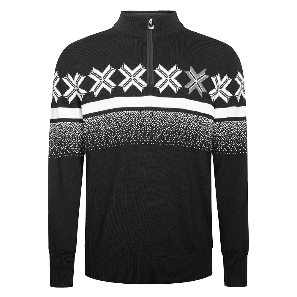 Dale of Norway OL Passion Sweater (Men's) - Black/Off White/Smoke