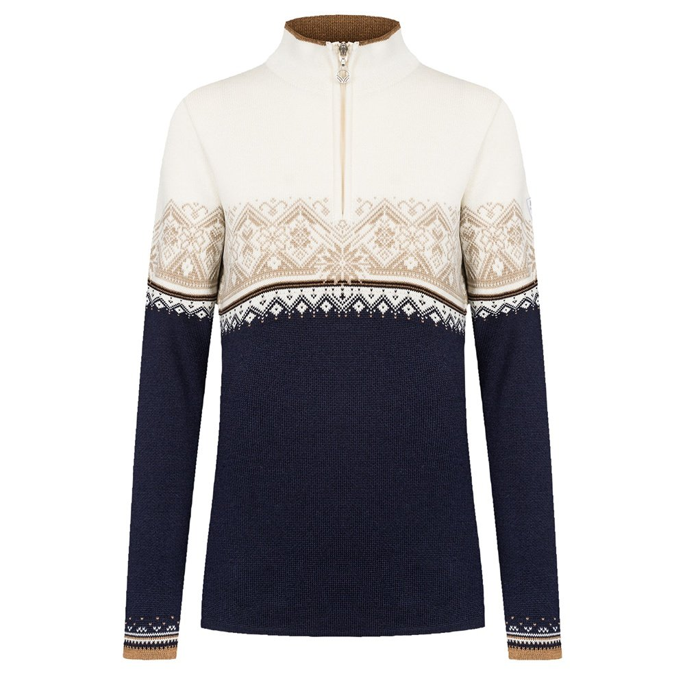 Dale of Norway Moritz Sweater (Women's) - Navy/Bronze/Off White