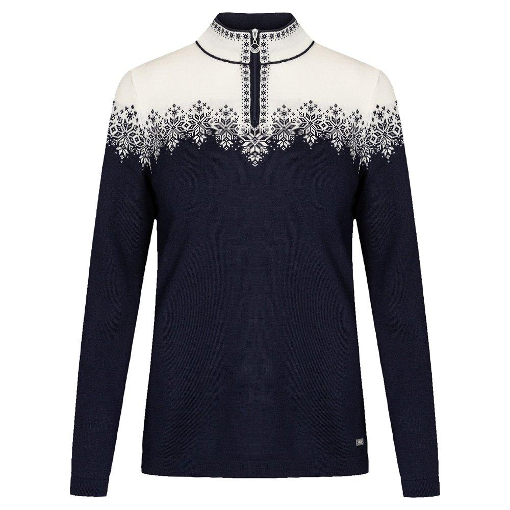 Dale of Norway Snefrid Sweater (Women's) - Navy/Off White