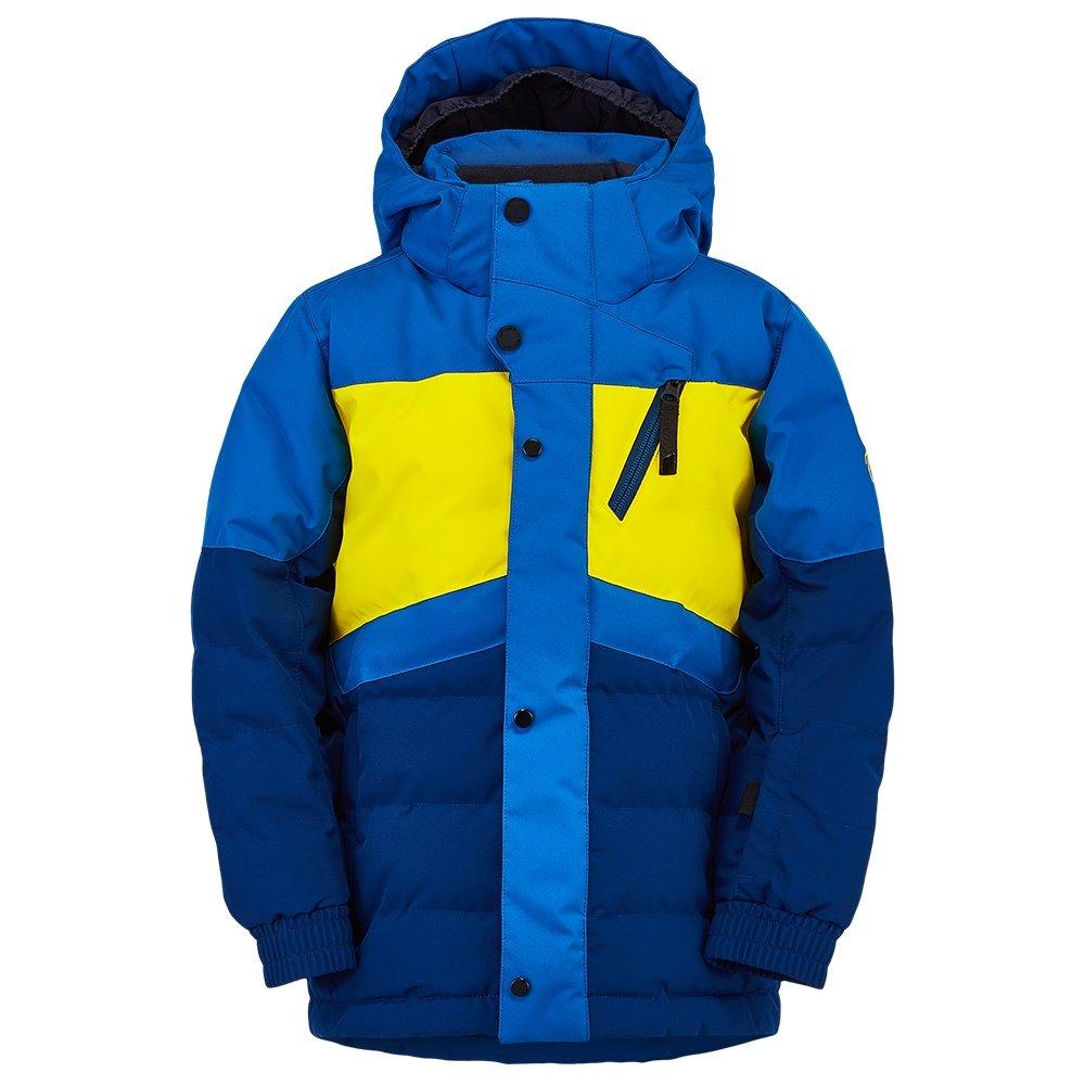 Spyder Trick Synthetic Down Ski Jacket (Little Boys') - Abyss