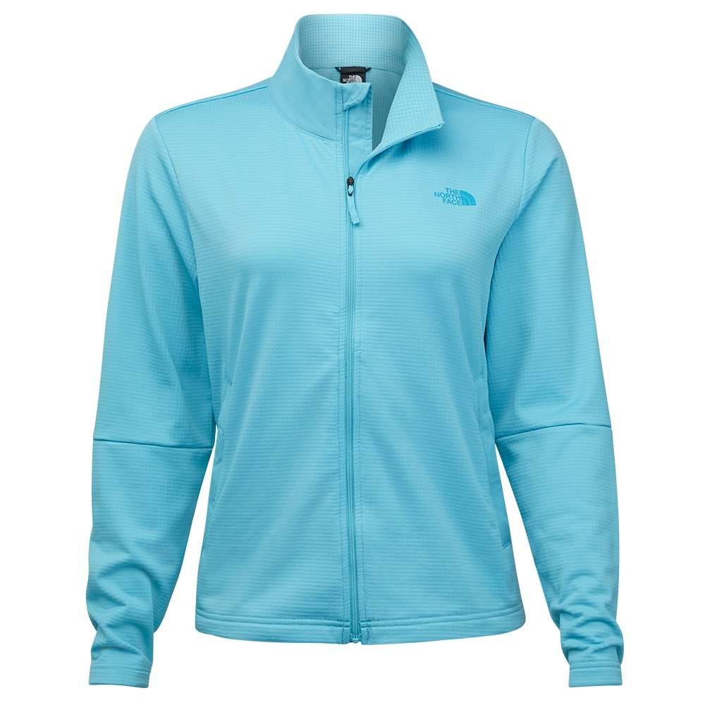 The North Face Wayroute Full Zip Sweater (Women's) - Maui Blue