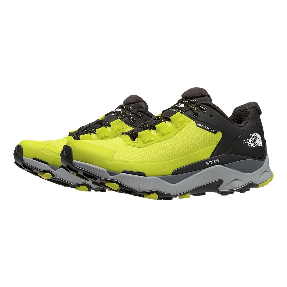 The North Face VECTIV Exploris FUTURELIGHT Trail Running Shoe (Men's) - Sulphur Spring Green/TNF Black