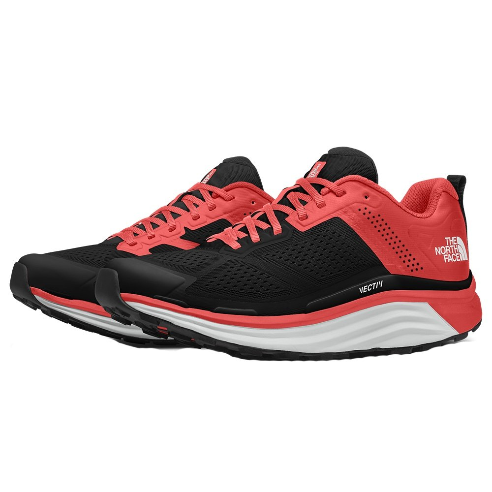 The North Face VECTIV Enduris Trail Running Shoe (Women's) - Fiesta Red/TNF Black