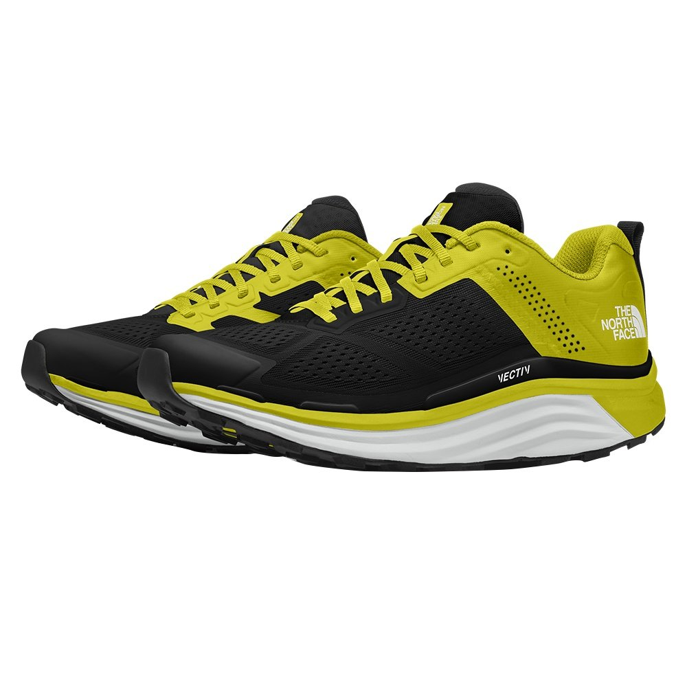 The North Face VECTIV Enduris Trail Running Shoe (Men's) - Sulphur Spring Green/TNF Black