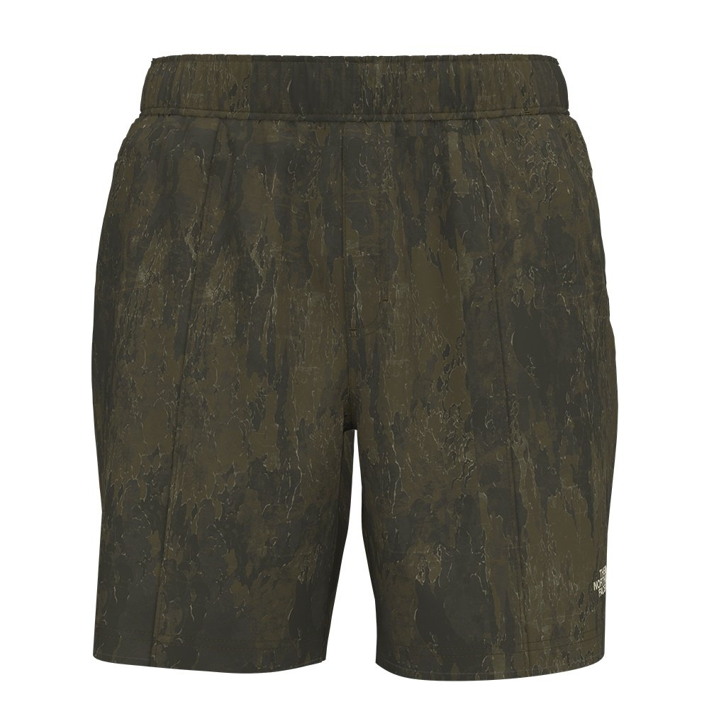 The North Face Class V Pull-On Short (Men's) - Military Olive Cloud Camo