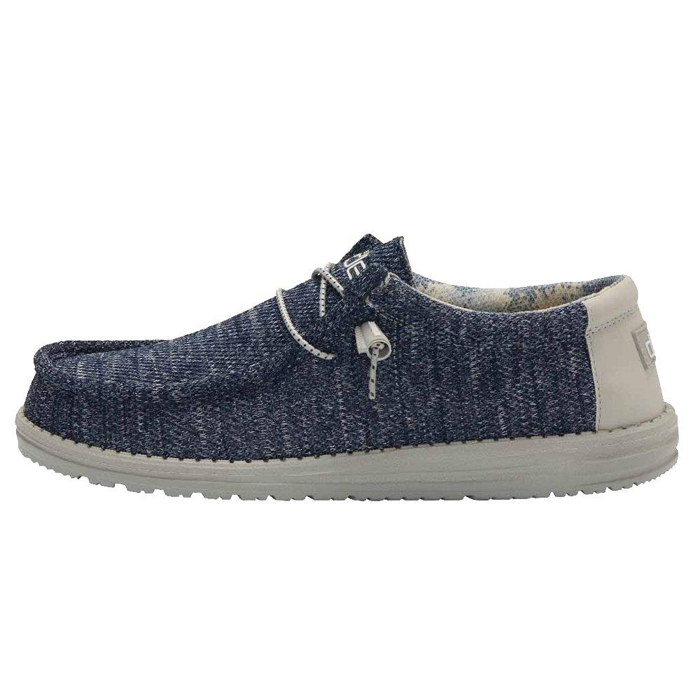 Hey Dude Wally Sox Shoe (Men's) - Moonlit Ocean