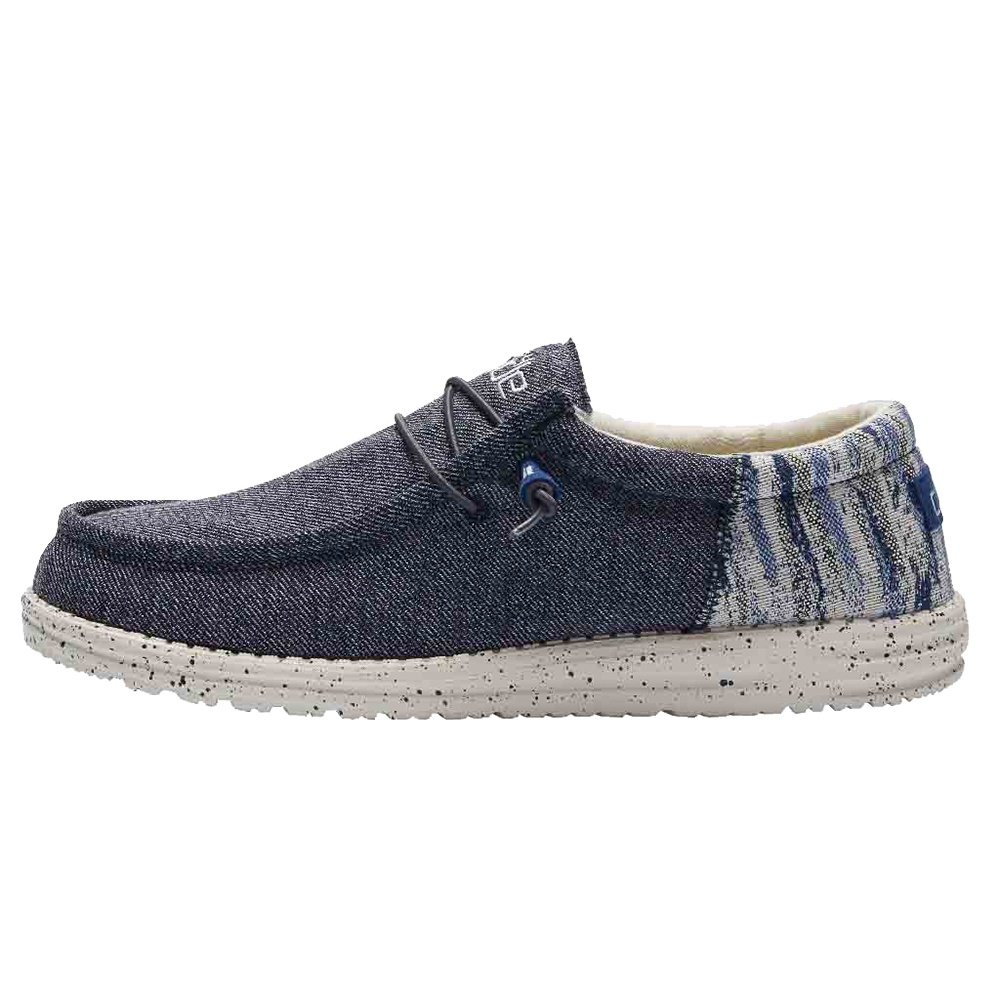 Hey Dude Wally Funk Shoe (Men's) - Galaxy Blue