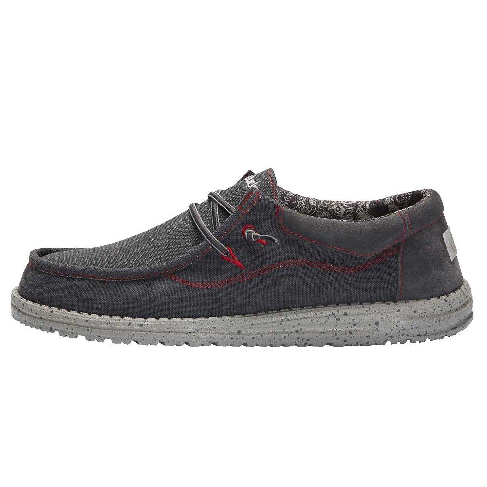 Hey Dude Wally Flow Shoe (Men's) - Black
