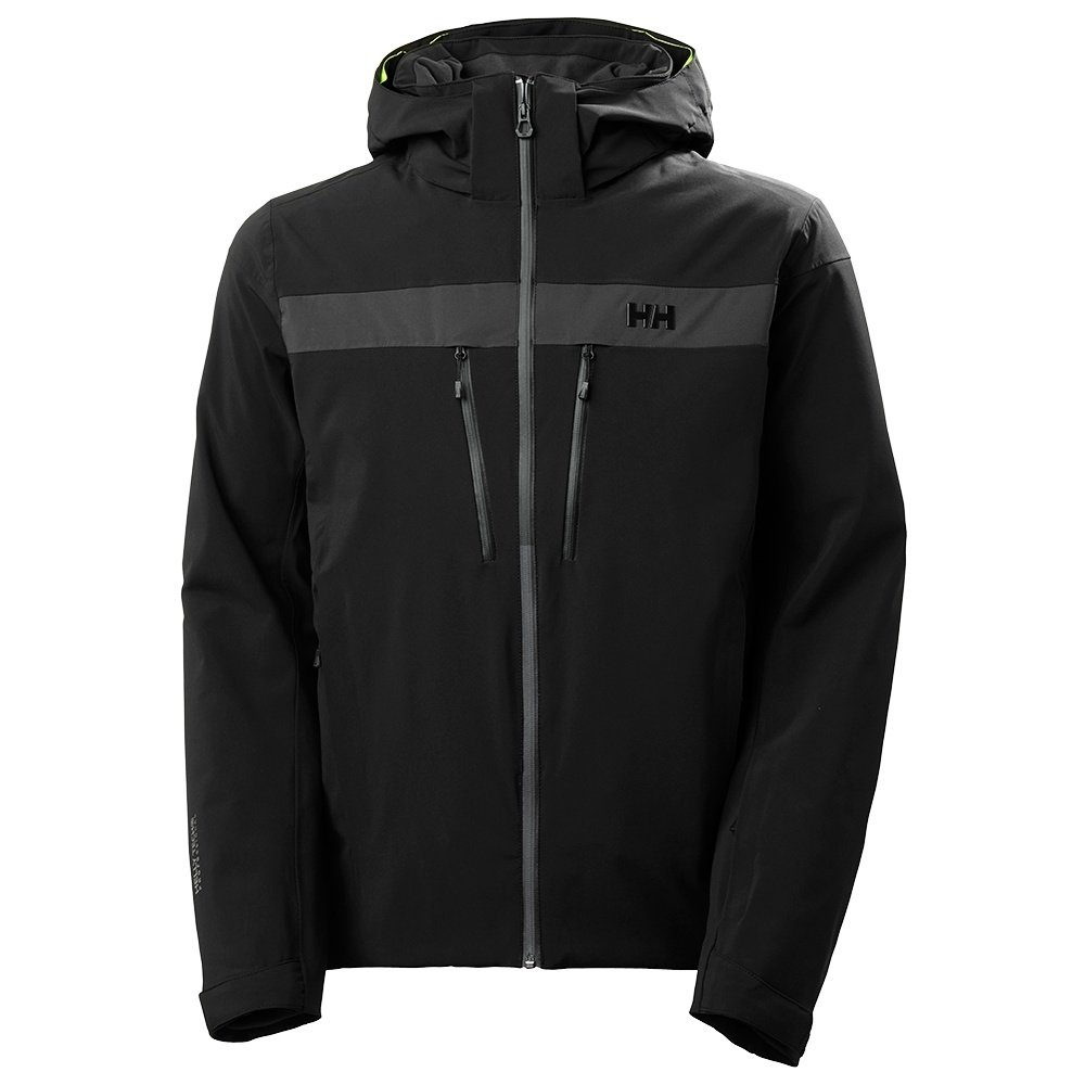 Helly Hansen Omega Insulated Ski Jacket (Men's) - HH Black