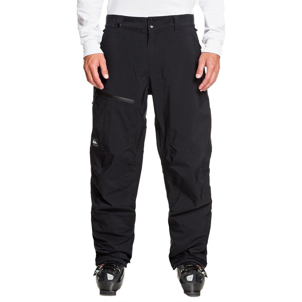 Quiksilver Forever 2L GORE-TEX Shell Snowboard Pant (Men's) - True Black