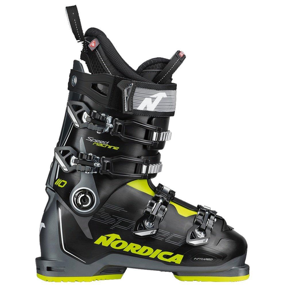 Nordica Speedmachine 110 Ski Boot (Men's) - Black/Yellow