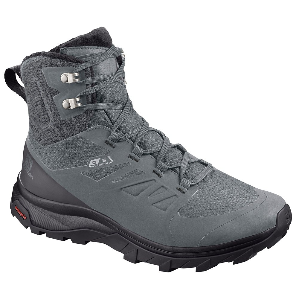 Salomon OUTblast Thinsulate ClimaSalomon Waterproof Winter Boot (Women's) - Monument