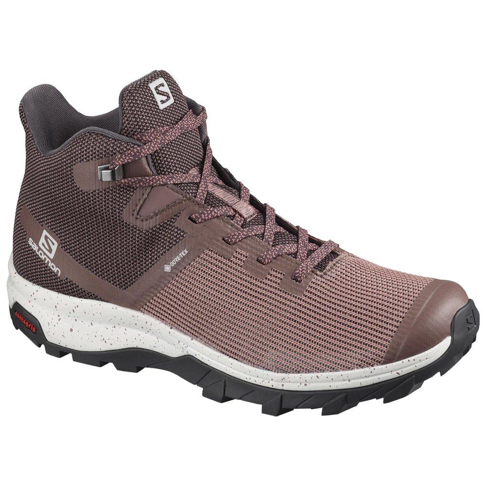 Salomon Outline GORE-TEX Prism Mid Trail Running Shoe (Women's) - Peppercorn