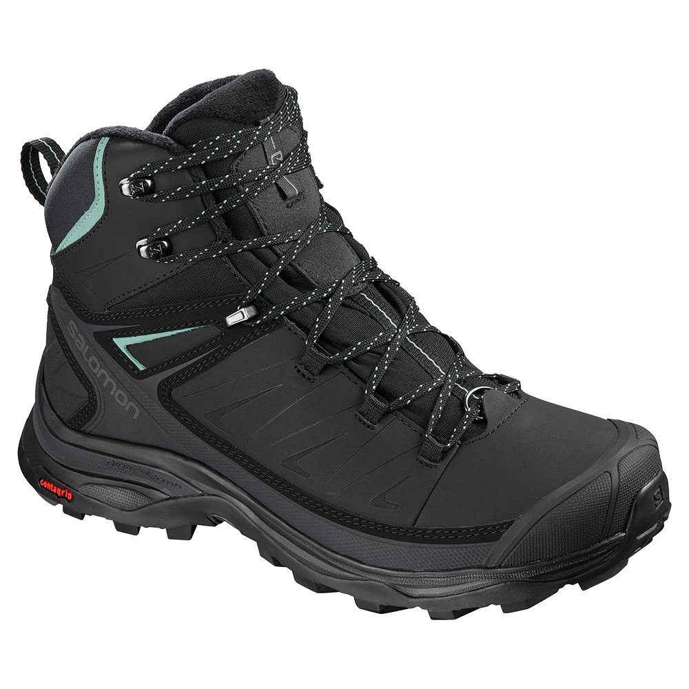 Salomon X Ultra Mid Winter CS Waterproof Hiking Boot (Women's) - Black