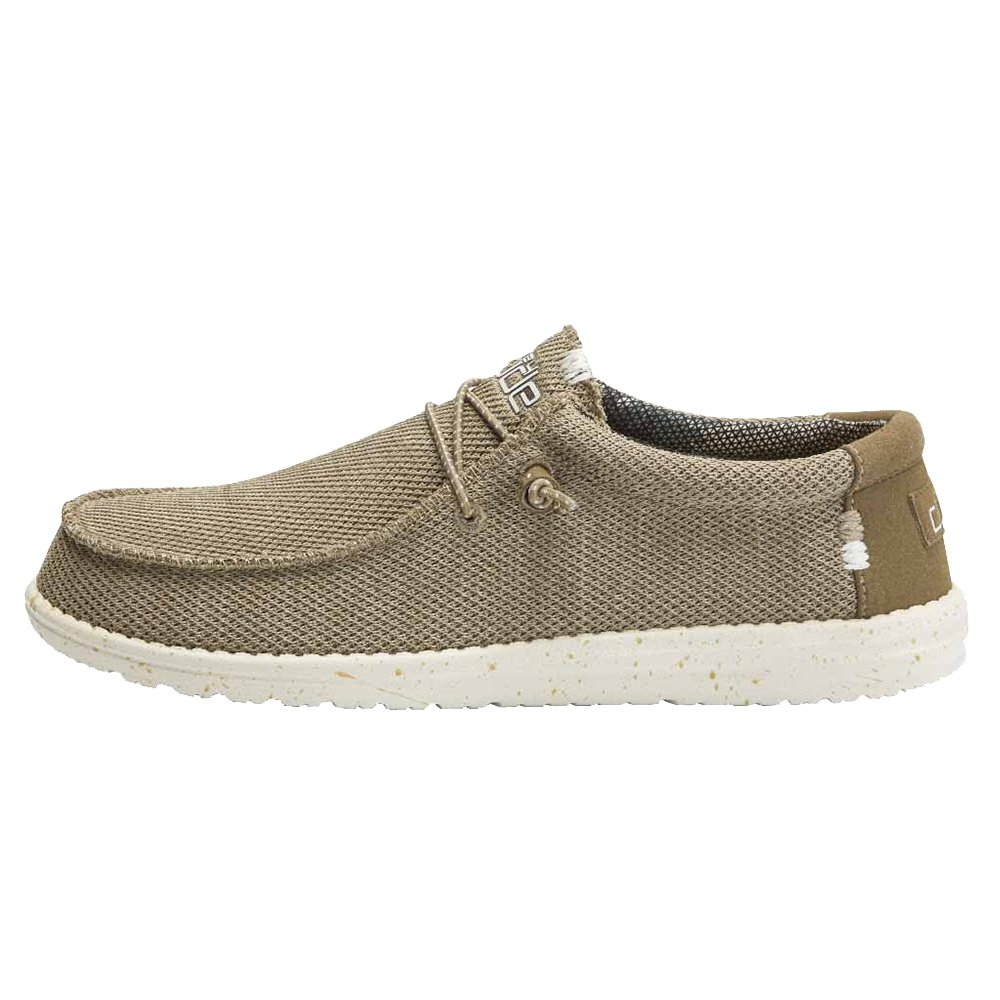 Hey Dude Wally Sox Shoe (Men's) - Sand