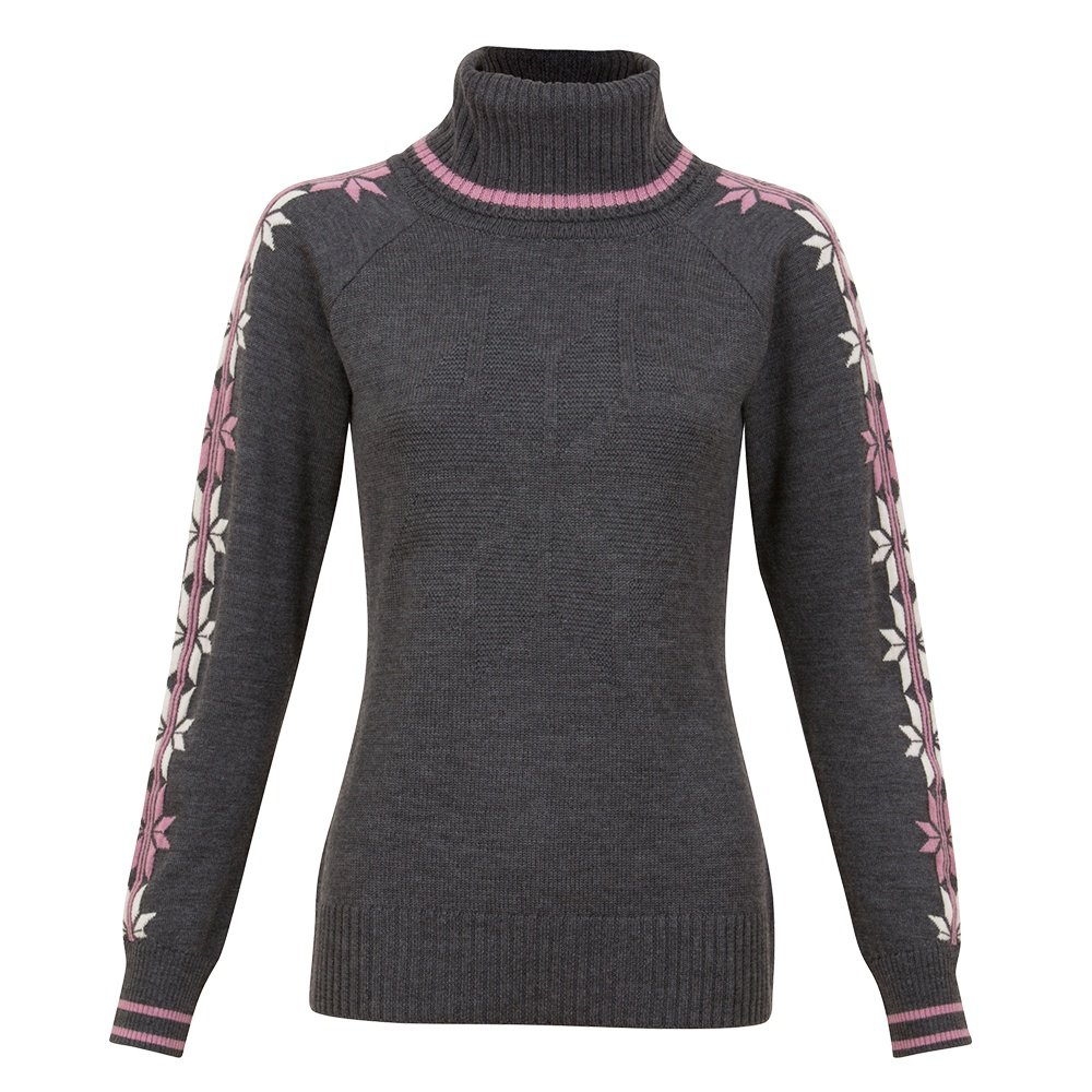 Krimson Klover Epiphany Turtleneck Sweater (Women's) - Charcoal