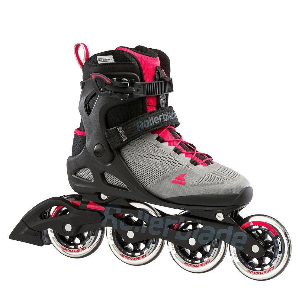 Rollerblade Macroblade 90 Inline Skate (Women's) - Grey/Pink
