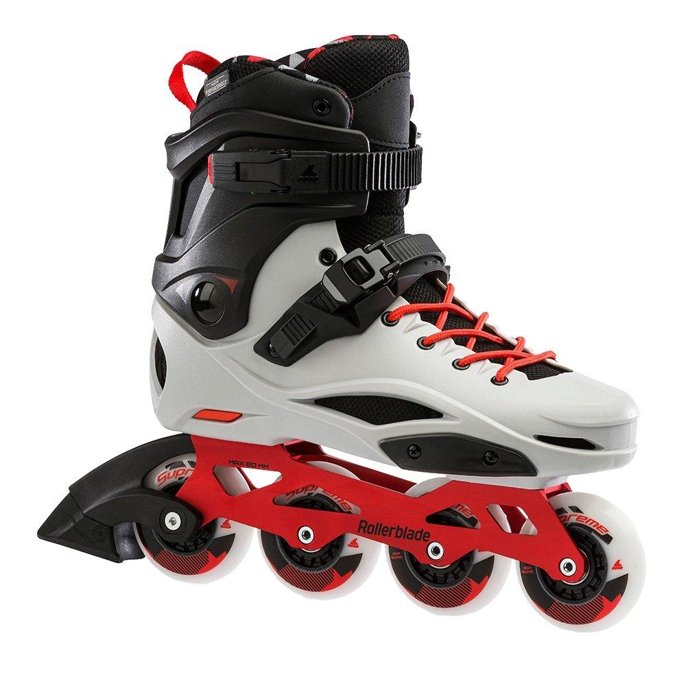 Rollerblade RB Pro X Inline Skate (Men's) - Grey/Warm Red