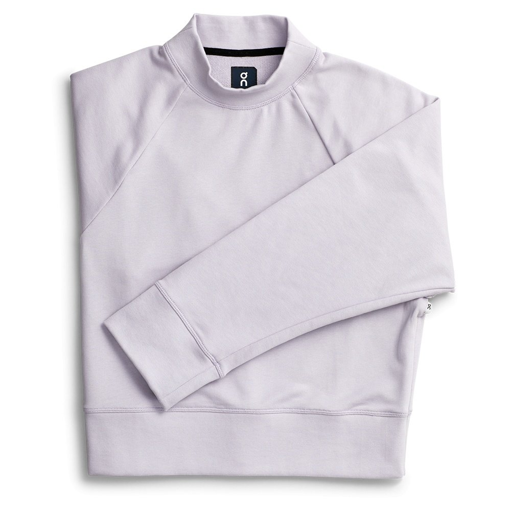 On Crew Neck Sweatshirt (Women's) - Lilac