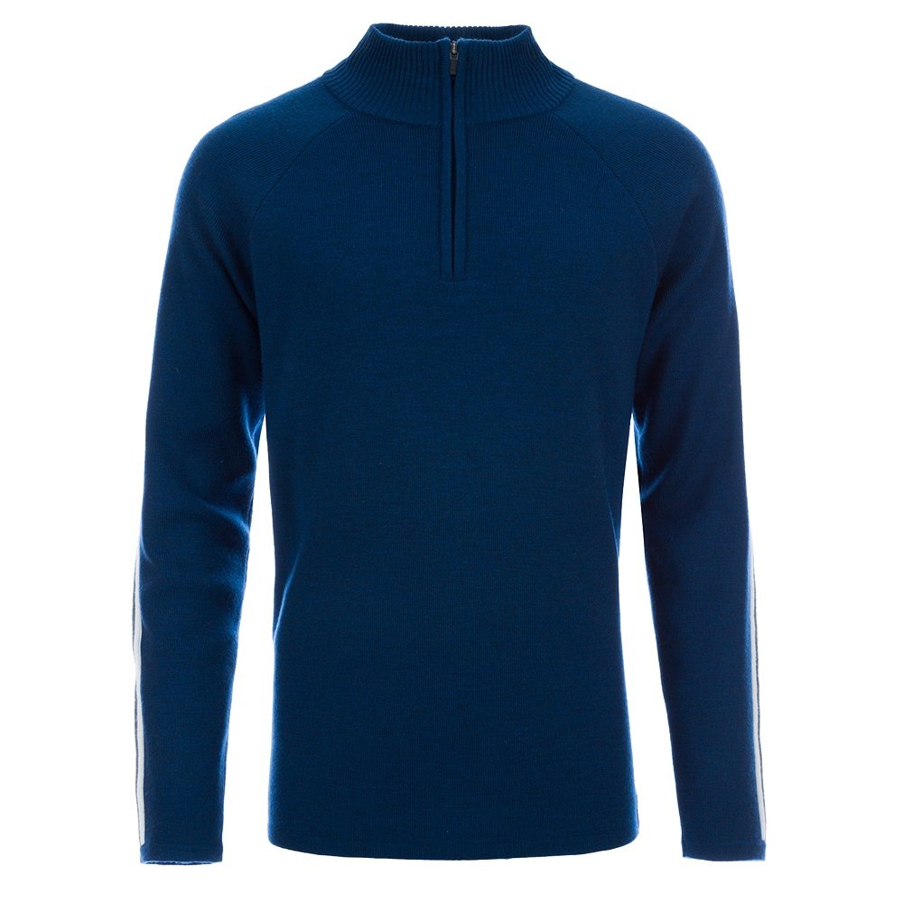 Meister Chase 1/2-Zip Ski Sweater (Men's) - Poseidon