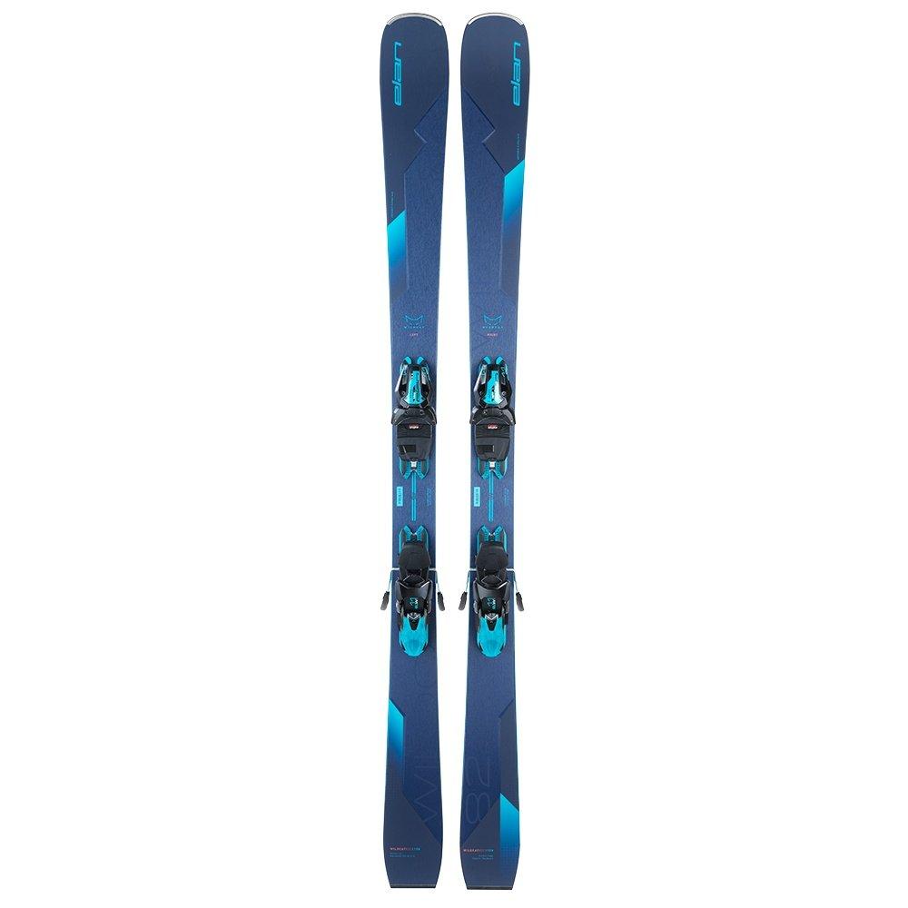 Elan Wildcat 82 CX Ski System with ELW 11 GW Bindings (Women's) -