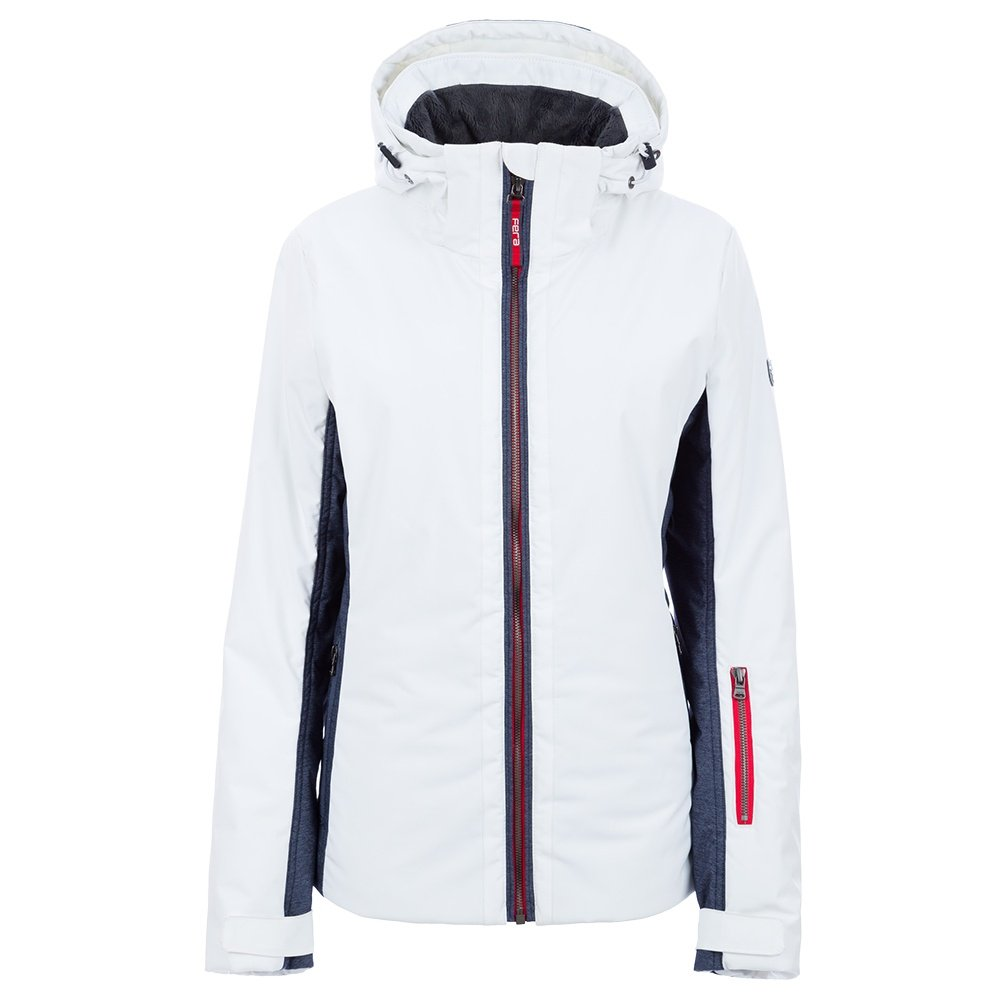 Fera Kendall Insulated Ski Jacket (Women's) - White Cloud/Denim