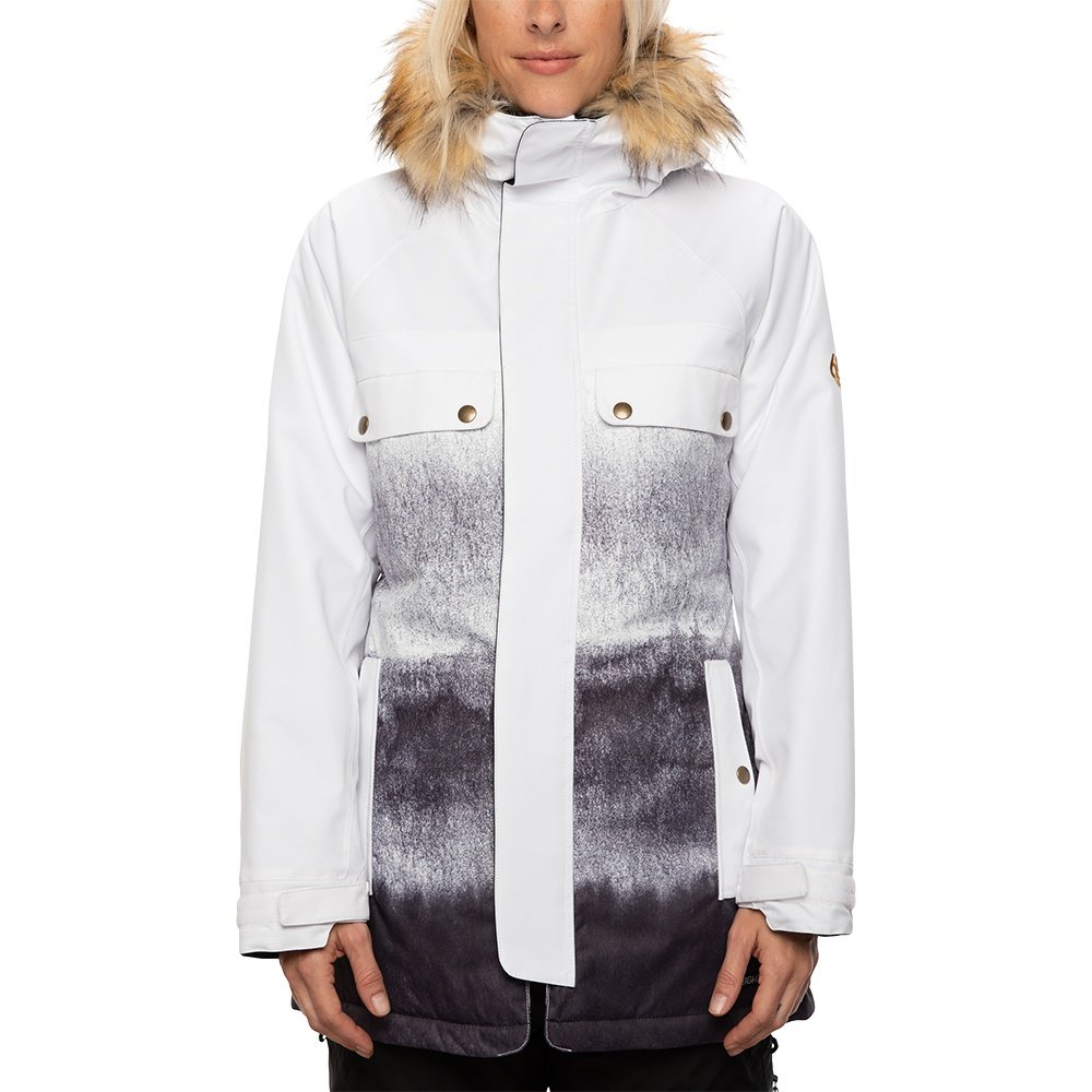 686 Dream Insulated Snowboard Jacket (Women's) - White
