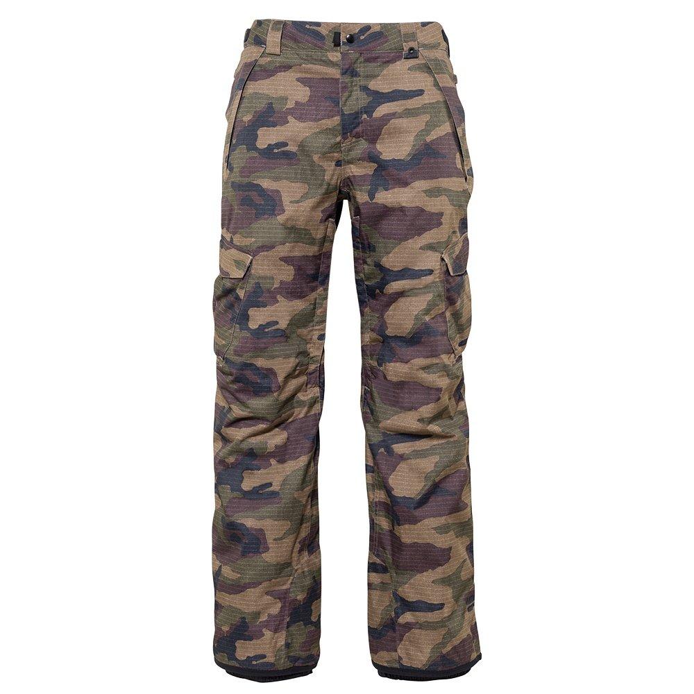 686 Infinity Cargo Insulated Snowboard Pant (Men's) - Dark Camo