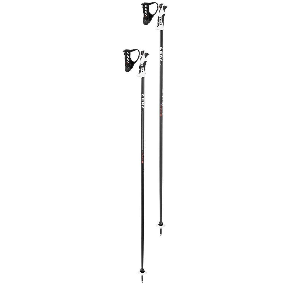 Leki Spark Lite S Ski Pole (Adults') - Anthracite/Red