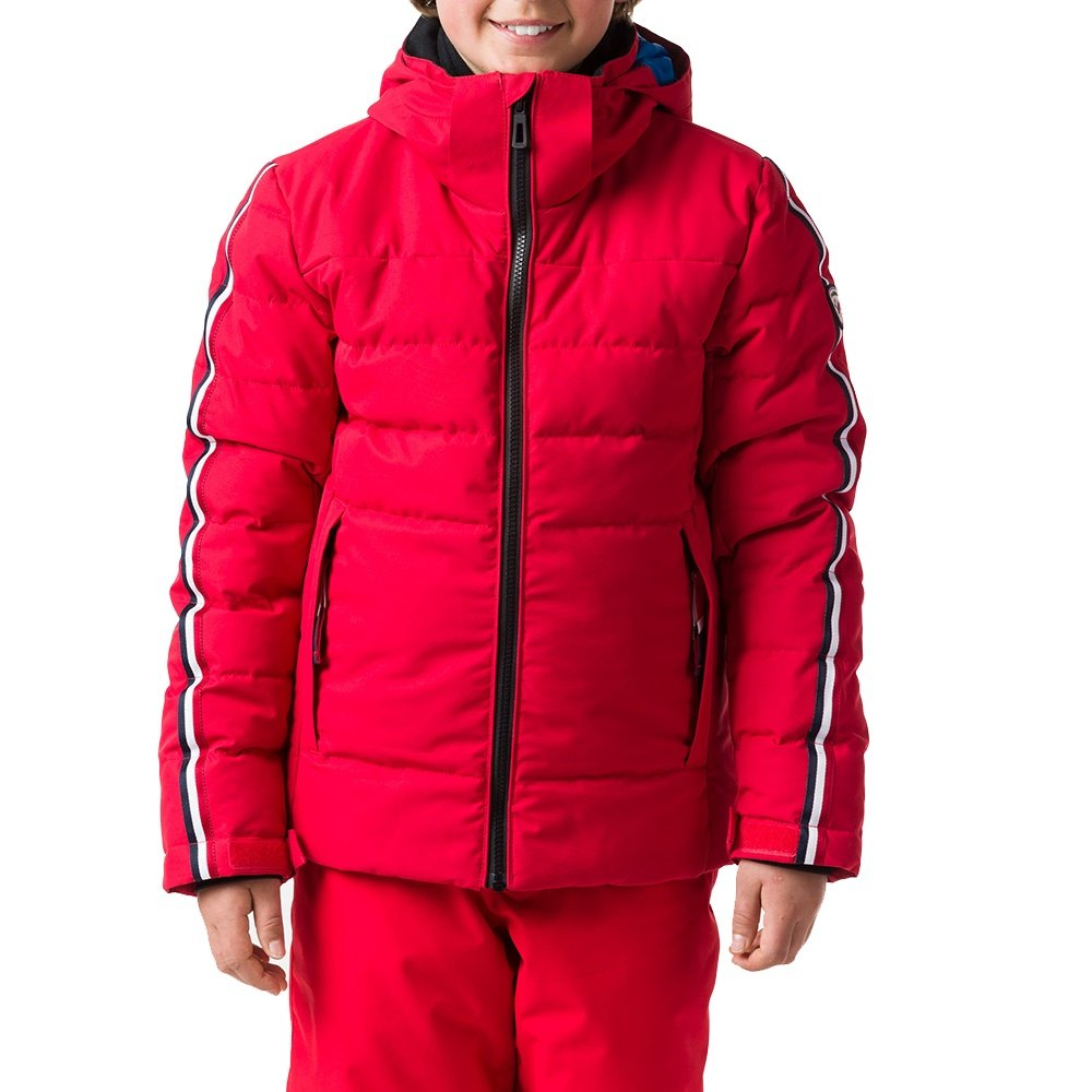 Rossignol Hiver Polydown Insulated Ski Jacket (Boys') - Carmin