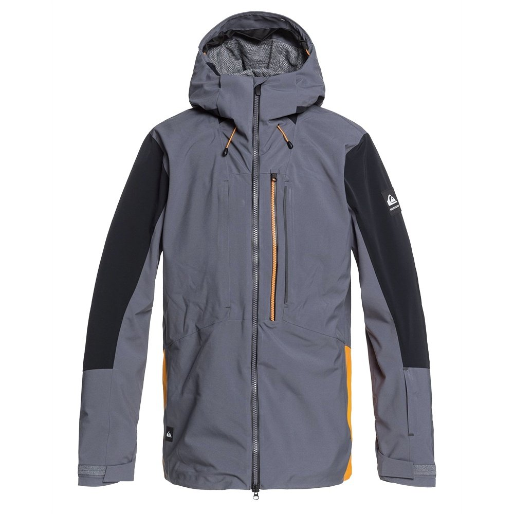 Quiksilver TR Stretch Shell Snowboard Jacket (Men's) - Iron Gate