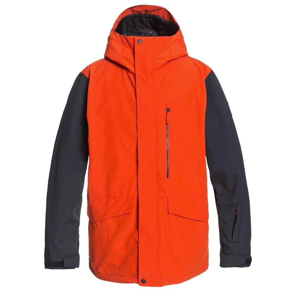 Quiksilver Mission 3 in 1 Snowboard Jacket (Men's) - Pureed Pumpkin