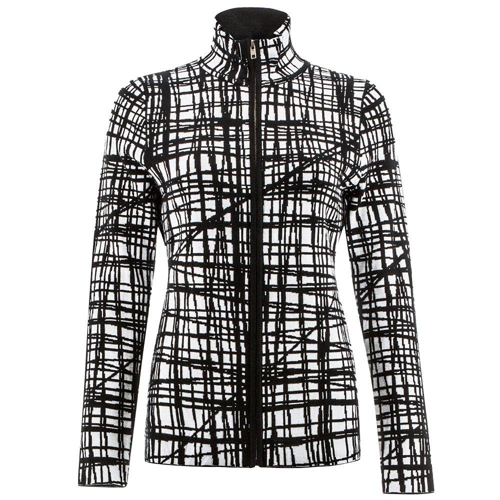 Icelandic Harlow Full-Zip Sweater (Women's) - Black