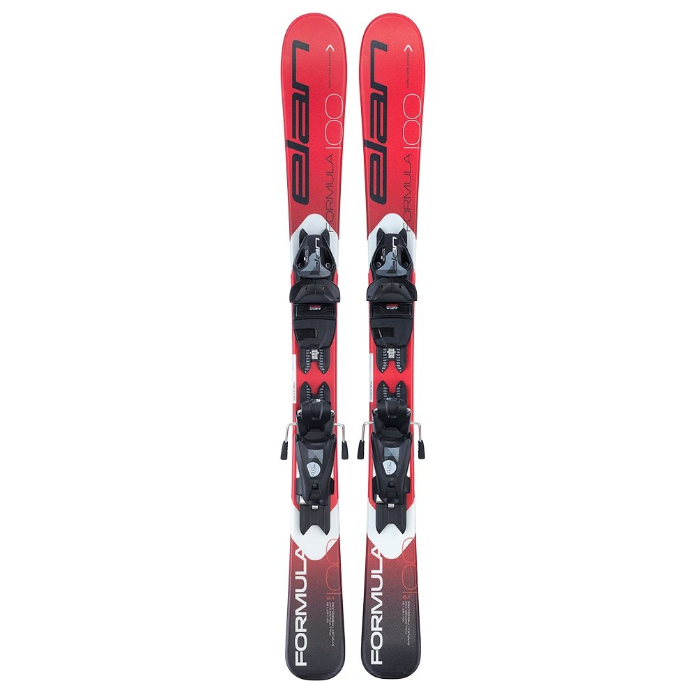 Elan Formula Ski System with EL 4.5 GW Bindings (Kids') - Red/White