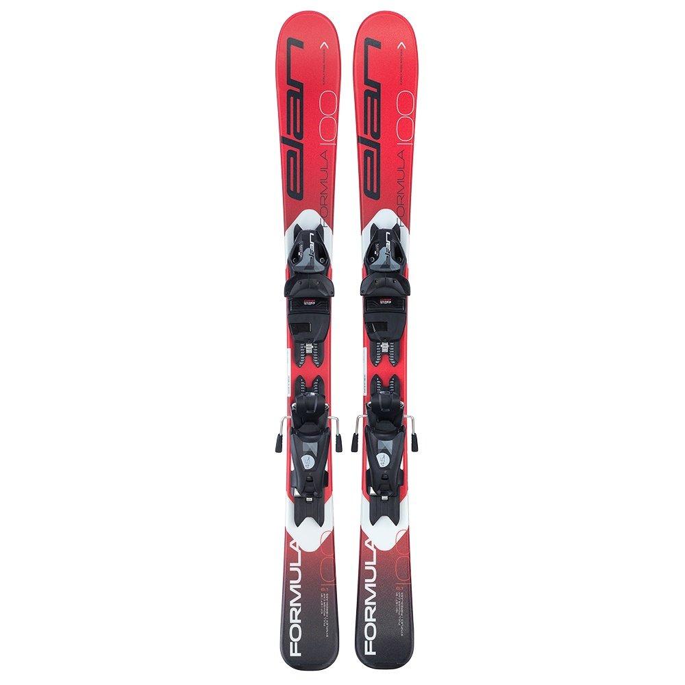 Elan Formula Ski System with EL 7.5 GW Bindings (Kids') - Red/White
