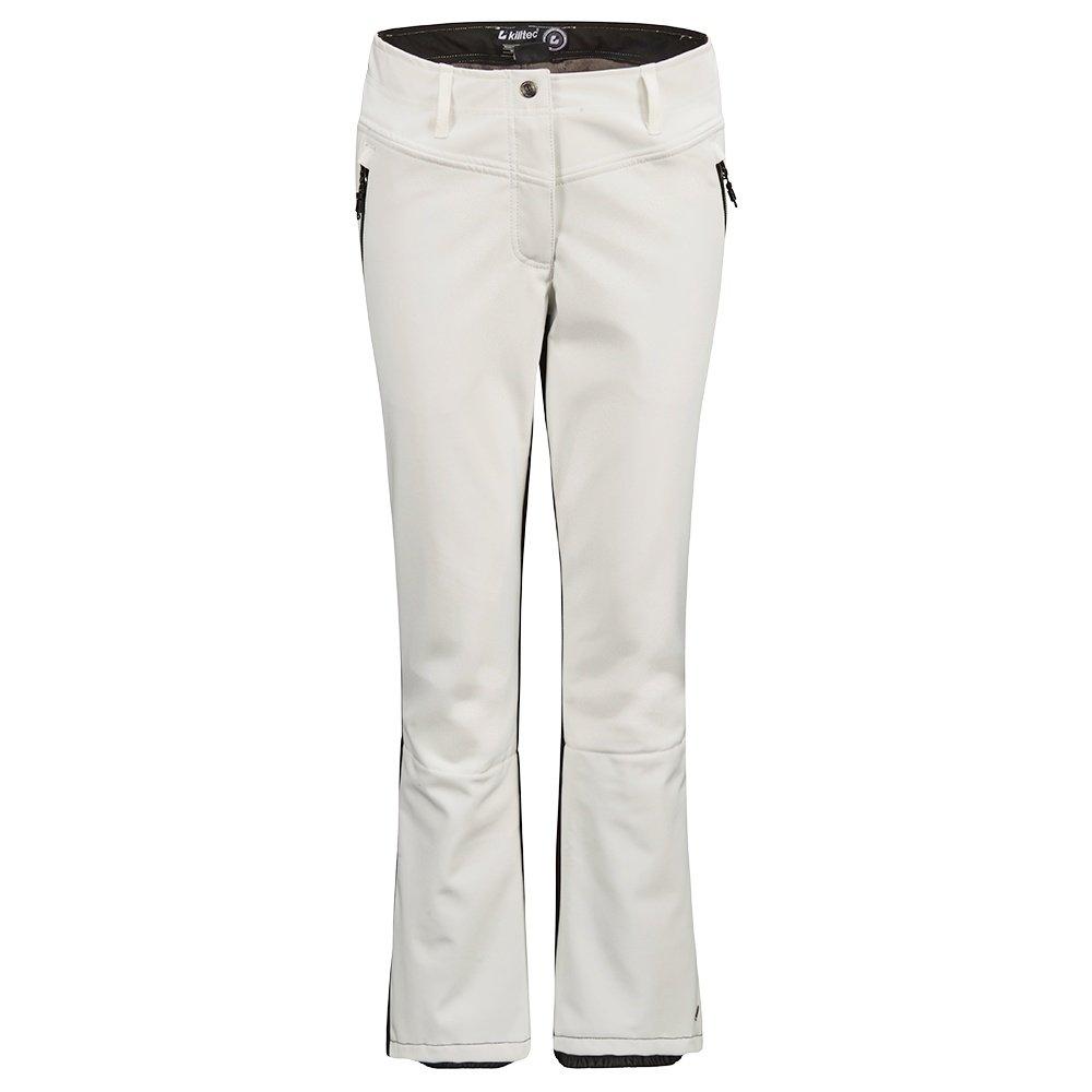 Killtec Jilia Colorblock Softshell Ski Pant (Women's) - White
