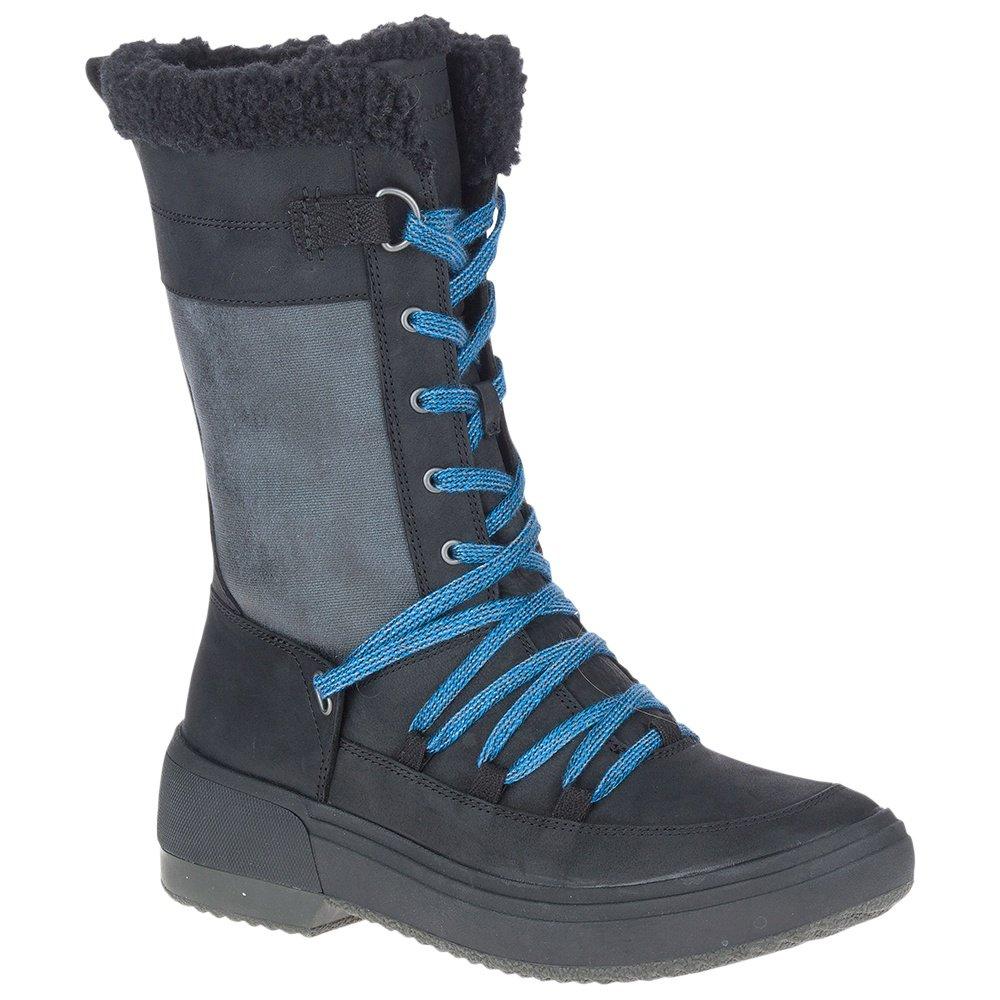 Merrell Haven Tall Lace Polar Waterproof Winter Boot (Women's) - Black