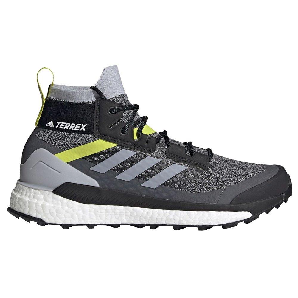 Adidas Terrex Free Hiker Primeblue Trail Running Shoe (Men's) - Halo Silver/Core Black