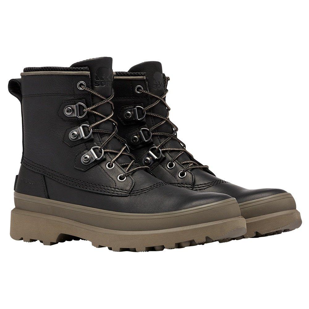 Sorel Caribou Street Waterproof Winter Boot (Men's) - Black
