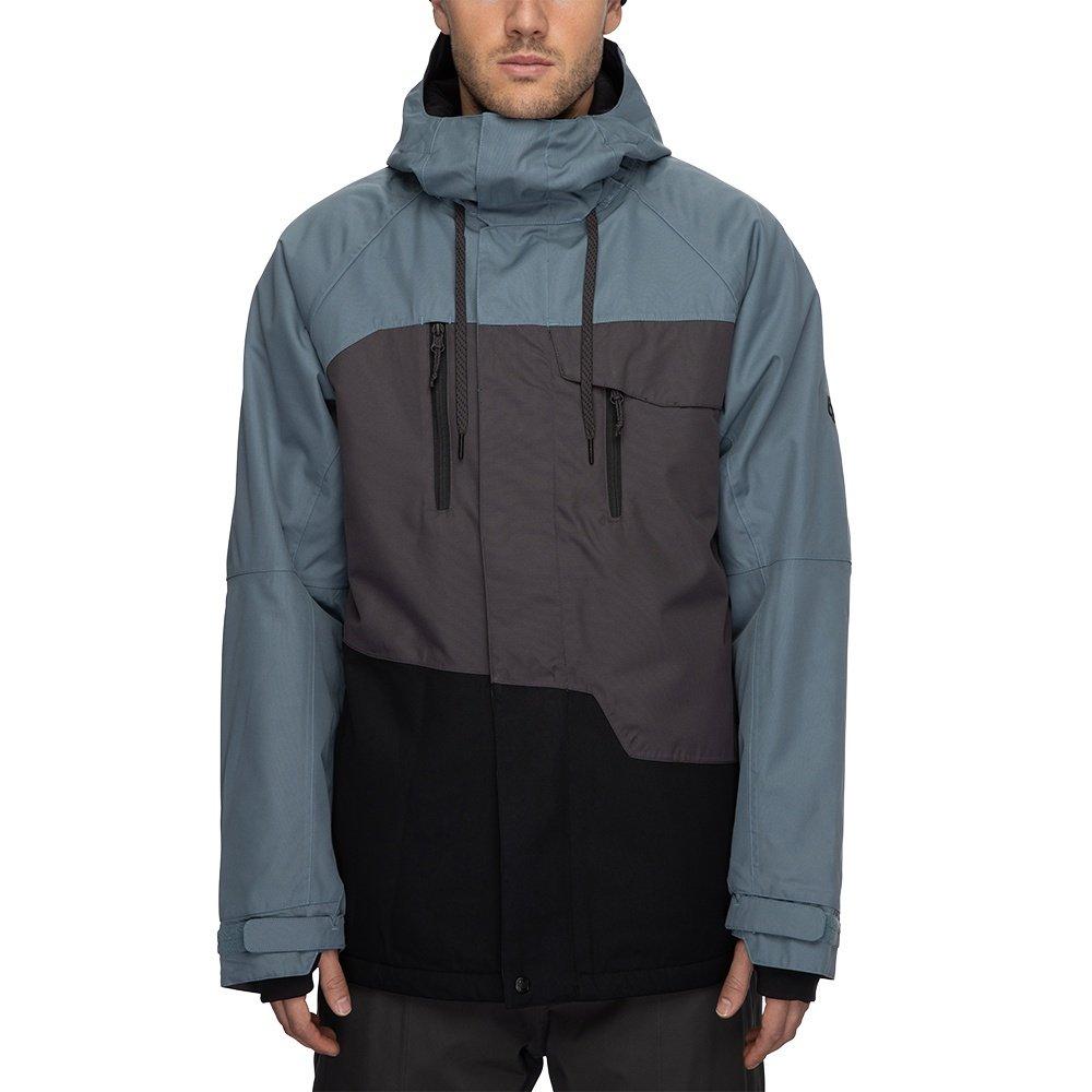 686 Geo Insulated Snowboard Jacket (Men's) - Goblin Blue Colorblock