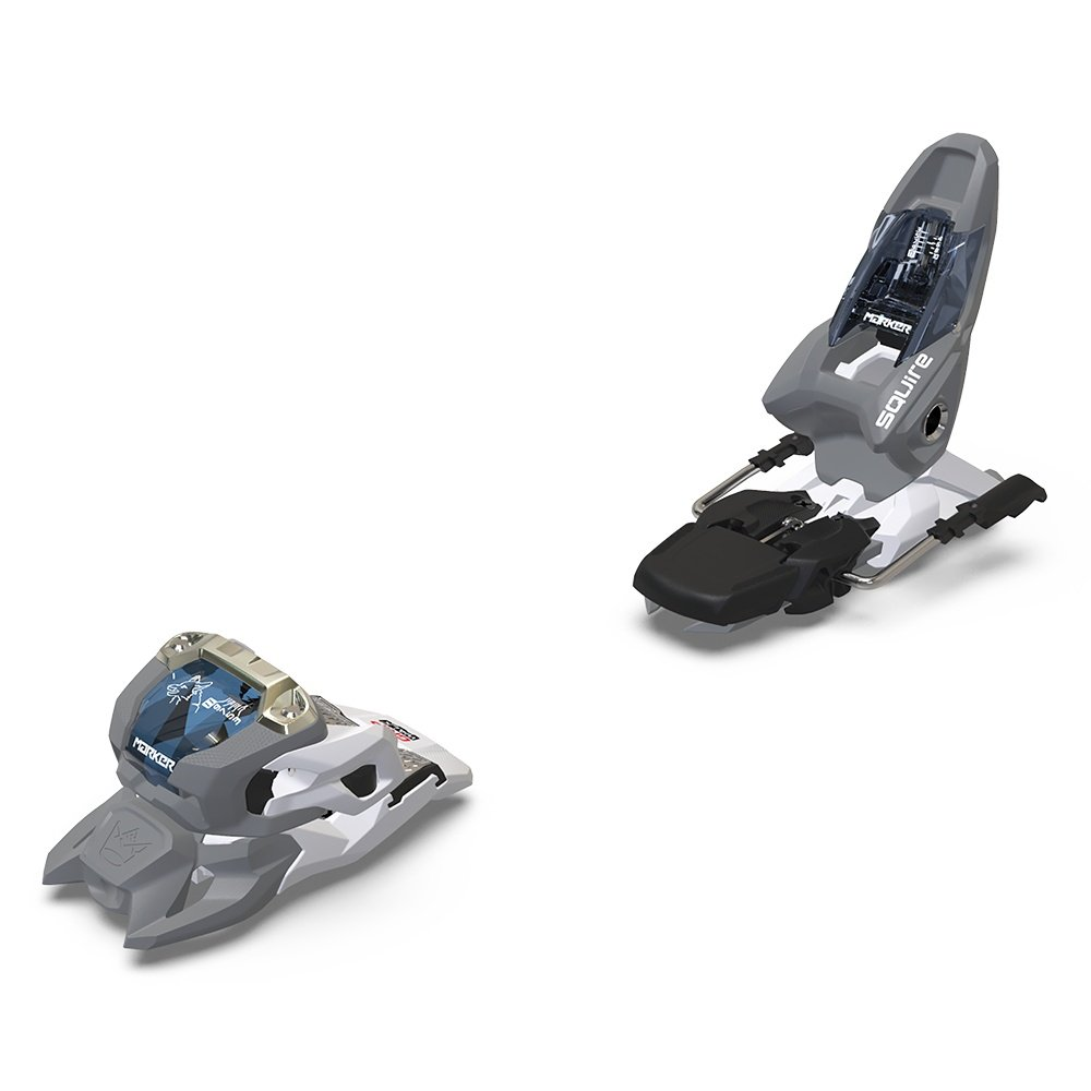 Marker Squire 11 ID 90 Ski Binding (Adults') - Gray/White