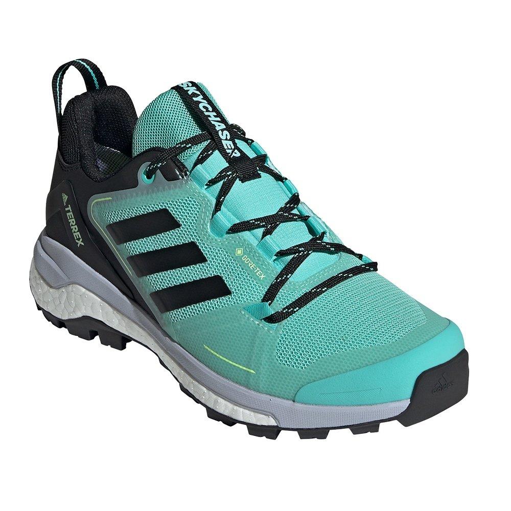 Adidas Skychaser 2.0 GORE-TEX Trail Running Shoe (Women's) - Acid Mint/Core Black/Screaming Pink