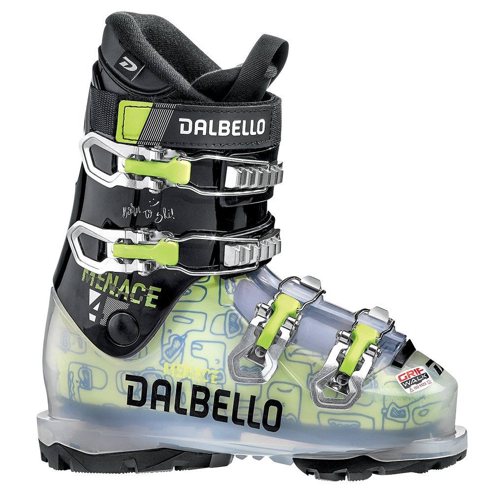 Dalbello Menace 4.0 GW Ski Boot (Kids') - Tranparent Black